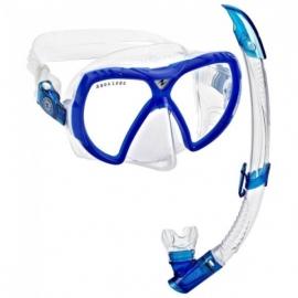 SET Maschera e Boccaglio Aqualung Snorkeling