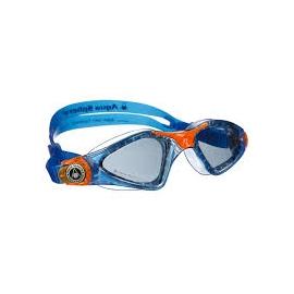 Occhialini Aqua Sphere Kayenne bimbo Blue-Orange, Dark Lens